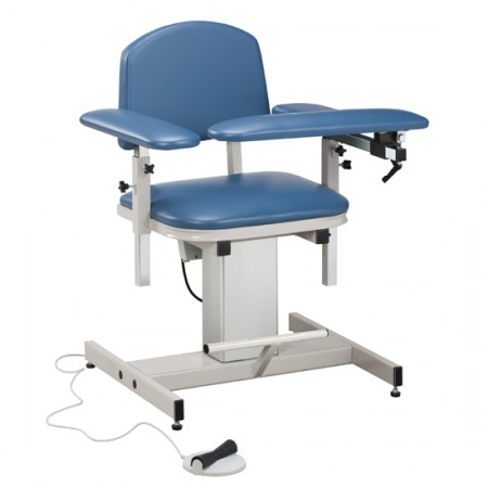 Blood Draw Chair, Padded Seat & Backrest, Padded Flip Arm & Armrests