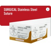 Ethicon Surgical Gut Suture – Plain, Straight Cutting Needles